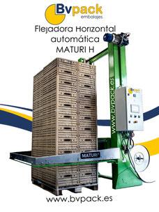 Flejadora hirzontal automática maturi H